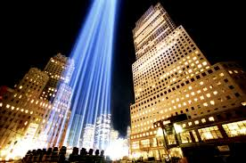 9 11 Memorial Lights Column In Manhattan 2 9 11 World Trade Center Pictures 9 11