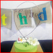 wire cake toppers 2017 free shipping balloon shaped wire cake toppers personalized