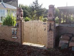 trendy ideas of outdoor wood gates designs exterior geronk home