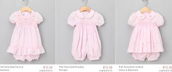 samara baby clothing sale coupon code for zulily kid s smocked