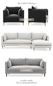introducing the everygirl u0027s caitlin sofa at interior define the