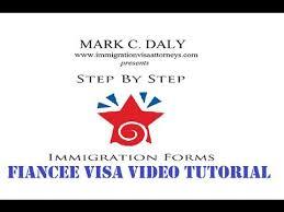 k 1 fiancée visa video tutorial 19 uscis i 129f cover letter and