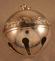 wallace silverplate sleigh bell ornament 1976 ebay