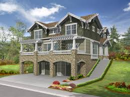 lesparre raised craftsman home plan 071d 0248 house plans and more