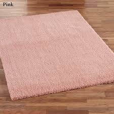 exquisite solid pink shag rug pink area rugs woodwaves to phantasy