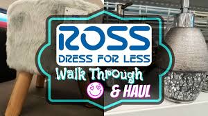 shop with me 2017 ross haul clothes and home decor youtube