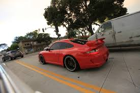 red porsche 911 red porsche 911 gt3 with black wheels 2 madwhips