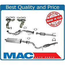 mazda made in usa full exhaust system made in usa for ford escape mazda tribute 3 0l