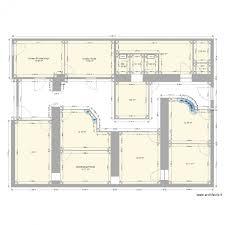 plan bureau plan bureau administratif plan 15 pièces 115 m2 dessiné par scolomet