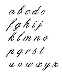 6 best images of fancy cursive letters uppercase lowercase