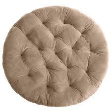 Pier One Pillows And Cushions Plush Khaki Papasan Cushion Pier 1 Imports
