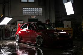 custom subaru hatchback fine red wine danny u0027s sti feature u2013 losgoonies