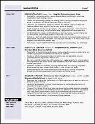 elementary resume template resume exles pointrobertsvacationrentals