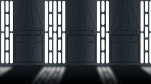 death star hallway star wars references for digital painting