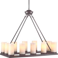 faux pillar candle chandelier lighting 45 collection of faux candle chandelier