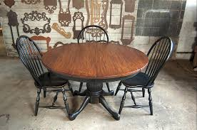 Country Kitchen Table And Chairs - custom wood tables handcrafted farmhouse dining tables
