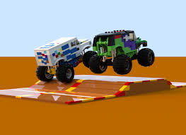 grave digger monster truck toy lego ideas monster jam ice cream man vs grave digger