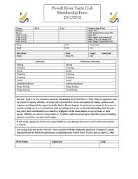 powell river yacht club jib sheet 2011 2012 membership form