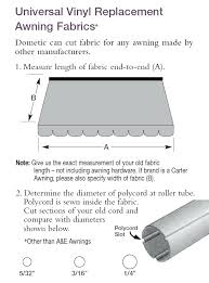 Rv Replacement Awning Fabric Dometic Rv Awning Parts Diagram A A A A U0026e Awning Fabric Awnings