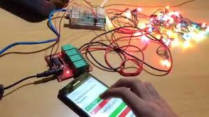 how to control christmas lights using raspberry pi using relay