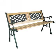 Wooden Park Bench Metal Iron Vintage Park Bench Garden Chair Image With Astonishing
