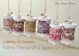 tea home tutorial liberty of fabric thread on a