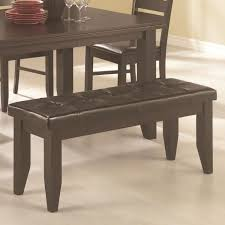 dining table upholstered bench dining room decor ideas and