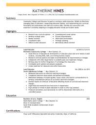 Best Teacher Resume Example Livecareer by Education Resume Free Resume Example And Writing Download