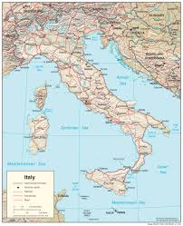 Italy Map Cities by Deboomfotografie Part 55