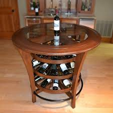 table with wine rack sosfund