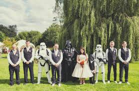 themed weddings picture of chic and awesome wars themed wedding ideas