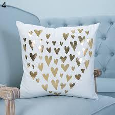 18 u0027 u0027 pineapple love bronzing throw pillow case home decor cushion