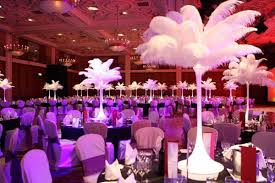 Table Decorations With Feathers Wedding Tables Decorations Ideas Innovative Budget Food