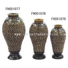 Wicker Vases Marble Flower Pot Planters Supply A Lot Stone Vases And Urns