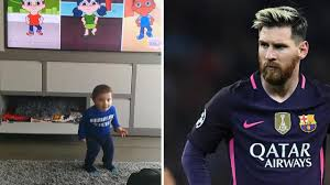 Lionel Messi Halloween Costume Lionel Messi Posts Cute Video Son Learning English Barcelona