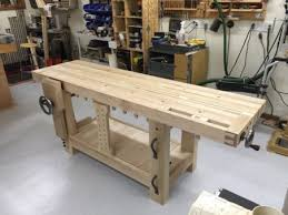 Woodworking Workbench Height by Split Top Roubo Workbench U2013 The Wood Whisperer Guild