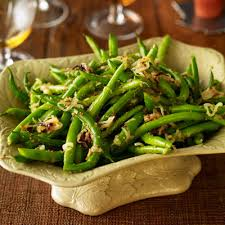 green beans with shallots thanksgiving recipes