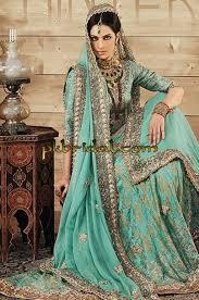 blue wedding dress designer blue wedding dress with border mathapatti