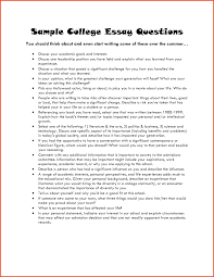 sample college transfer essay example of college essay good