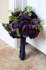 purple bouquets purple roses wedding bouquet wedding corners