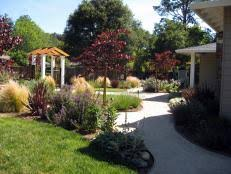 Front And Backyard Landscaping Ideas Lush Landscaping Ideas For Your Front Yard Hgtv