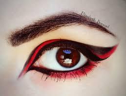 red u0026 black halloween make up tutorial january