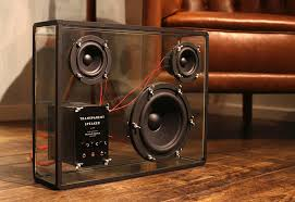 people people u0027s transparent speaker is a crowdfunded diy megahit