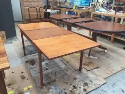 mid century dining table fully repaired and restored