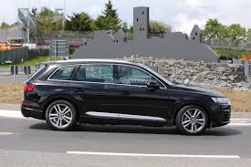 audi jeep 2016 2016 audi sq7 spied inside and out shows off on the test track
