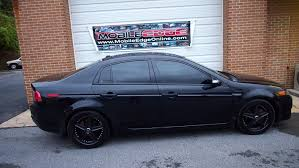 All Pro Window Tinting Acura Tl Gets Professional Window Tinting And Top Of The Line