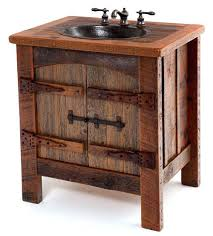 Diy Rustic Bathroom Vanity Rustic Bathroom Vanity Plans Homefield