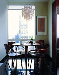 Dining Table Chandelier Great Chandelier Options For Small Apartments