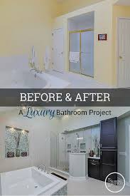 Bathroom Remodel Ideas Before And After Before U0026 After A Luxury Bathroom Remodel Home Remodeling