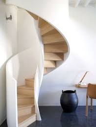 Designing Stairs Contemporary Spiral Staircase In Wood And Glass Spiral
